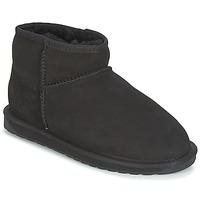 Cipők Női Csizmák EMU STINGER MICRO Fekete