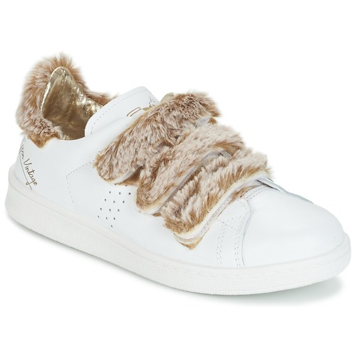 Cipők Női Rövid szárú edzőcipők Ippon Vintage FLIGHT POLAR Fehér / Rezes