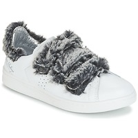 Cipők Női Rövid szárú edzőcipők Ippon Vintage FLIGHT POLAR Fehér / Szürke