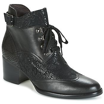 Cipők Női Bokacsizmák Mam'Zelle IMAZA Fekete