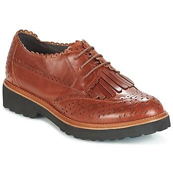 Cipők Női Oxford cipők Mam'Zelle ROSEAU Barna