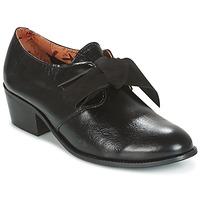 Cipők Női Oxford cipők Miss L'Fire GINGER Fekete
