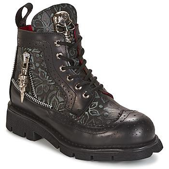 Cipők Csizmák New Rock MORTY Fekete