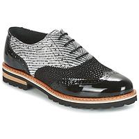 Cipők Női Oxford cipők Regard RIF2 Fekete