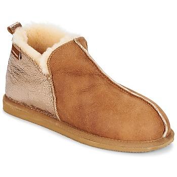 Cipők Női Mamuszok Shepherd ANNIE Konyak