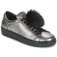 Cipők Női Rövid szárú edzőcipők Tosca Blu CERVINIA POM PON Ezüst