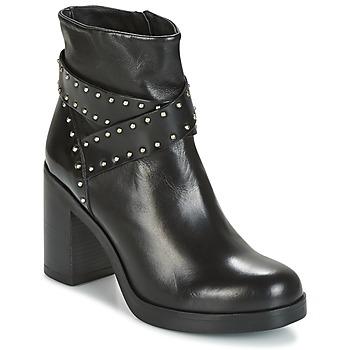 Cipők Női Bokacsizmák Tosca Blu ST.MORITZ Fekete
