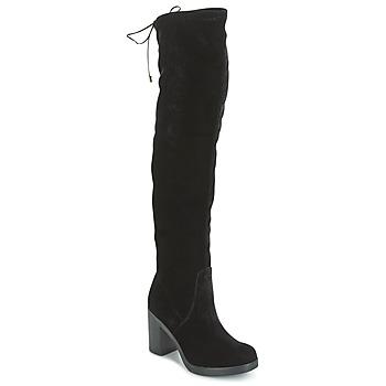 Cipők Női Combcsizmák Tosca Blu ST MORITZ Fekete