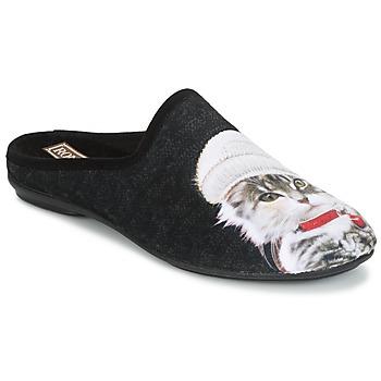 Cipők Női Mamuszok Rondinaud MOSELOTTE Fekete
