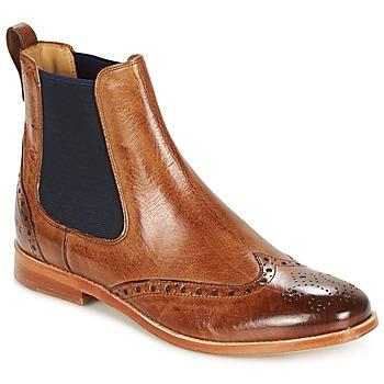 Shoes Női Csizmák Melvin & Hamilton AMELIE 5 Barna / Sötétkék