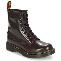 Cipők Női Csizmák Dr Martens 1460 Piros / Cseresznye