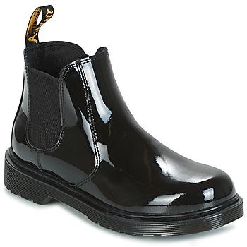 Cipők Gyerek Csizmák Dr Martens BANZAI Fekete