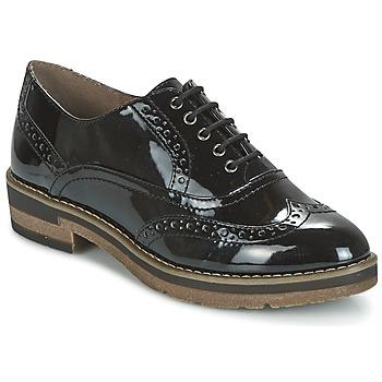 Cipők Női Oxford cipők Tamaris BETTILA Fekete