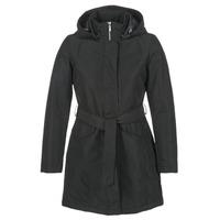 Ruhák Női Parka kabátok Geox PARKI Fekete