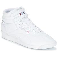 Cipők Női Magas szárú edzőcipők Reebok Classic F/S HI Fehér / Ezüst