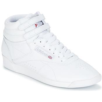 Shoes Női Magas szárú edzőcipők Reebok Classic F/S HI Fehér / Ezüst