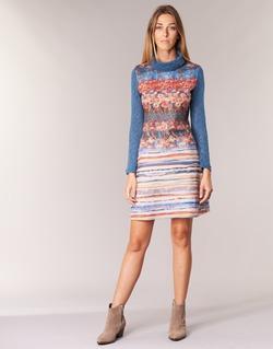 Ruhák Női Rövid ruhák Smash KRIVAN Sokszínű