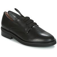 Cipők Női Oxford cipők Minna Parikka BUNNY LACE UP Fekete