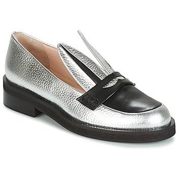 Cipők Női Mokkaszínek Minna Parikka LONG EARS Ezüst