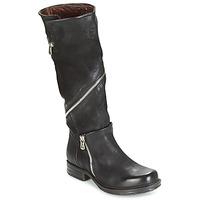 Cipők Női Városi csizmák Airstep / A.S.98 SAINT EC ZIP Fekete