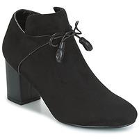 Cipők Női Bokacsizmák Moony Mood GLAM Fekete