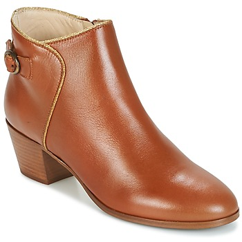 Shoes Női Bokacsizmák M. Moustache ELEONORE.M Konyak / Arany