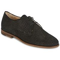 Cipők Női Oxford cipők M. Moustache EUGENIE Fekete