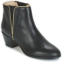 Shoes Női Bokacsizmák M. Moustache JEANNE.M Fekete  / Arany
