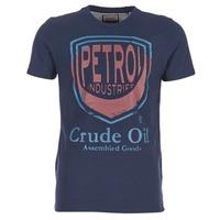 Ruhák Férfi Rövid ujjú pólók Petrol Industries TIRCO Tengerész