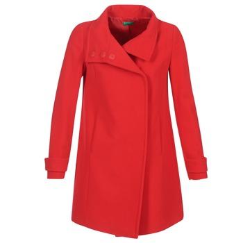 Ruhák Női Kabátok Benetton MERCRA Piros