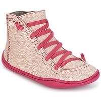 Cipők Lány Magas szárú edzőcipők Camper PEU CAMI Rózsaszín