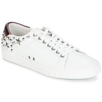 Cipők Női Rövid szárú edzőcipők Ash DAZED Fehér / Bordó