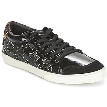 Cipők Női Bokacsizmák Ash MAJESTIC BIS Fekete / Ezüst