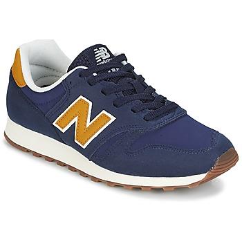 Cipők Rövid szárú edzőcipők New Balance ML373 Kék / Citromsárga