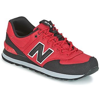 Cipők Férfi Rövid szárú edzőcipők New Balance ML574 Piros