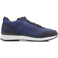 Cipők Férfi Rövid szárú edzőcipők Hogan HXM2610W500ESB0XKA blu acceso