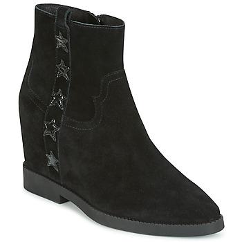 Cipők Női Csizmák Ash GOLDIE Fekete