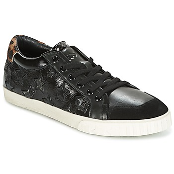 Cipők Női Rövid szárú edzőcipők Ash MAJESTIC Fekete