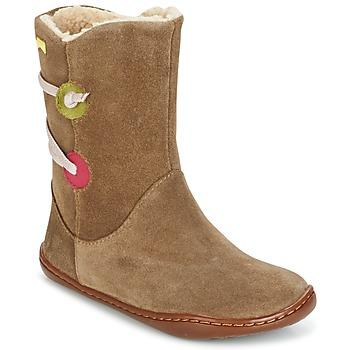 Cipők Lány Csizmák Camper TWS Barna
