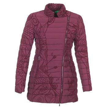 Ruhák Női Steppelt kabátok Desigual GIORDO Bordó
