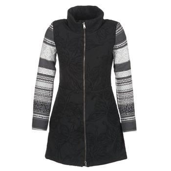 Ruhák Női Kabátok Desigual GRAME Fekete