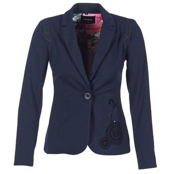 Ruhák Női Kabátok / Blézerek Desigual GROFA Tengerész