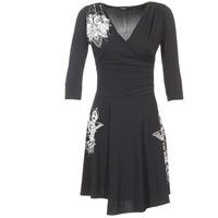 Ruhák Női Rövid ruhák Desigual GRAFU Fekete