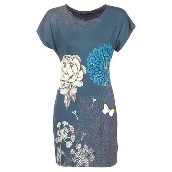 Ruhák Női Rövid ruhák Desigual MARTI Kék