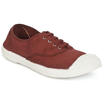 Cipők Női Rövid szárú edzőcipők Bensimon TENNIS LACET Salak / De / Bor