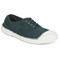 Cipők Női Rövid szárú edzőcipők Bensimon TENNIS LACET Zöld / Sötét