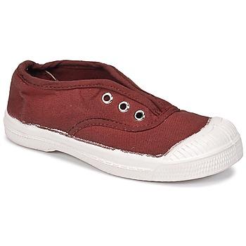 Cipők Gyerek Rövid szárú edzőcipők Bensimon TENNIS ELLY Piros