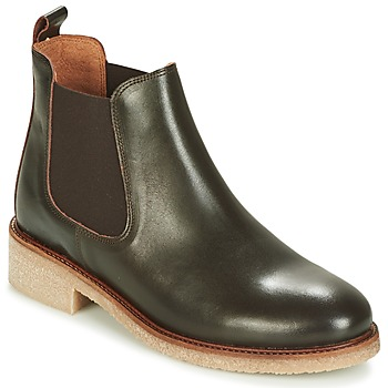 Cipők Női Csizmák Bensimon BOOTS CREPE Barna