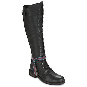Cipők Női Combcsizmák Felmini HARDY Fekete