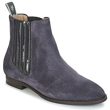 Cipők Női Csizmák Marc O'Polo PRAGUE 2 Tengerész
